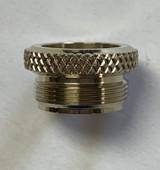 Diamond Knurl Nickel Silver Conn/Greenhoe Leadpipe Nut