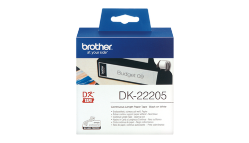 DK-22205 62mm x 30.48mm Continuous Label (3 boxes) for Brother QL-800