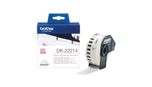 DK-22214 12mm x 30.48mm Continuous Label (3 boxes) for Brother QL-800