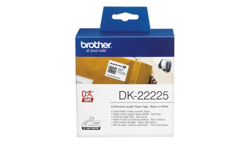 DK-22225 38mm x 30.48mm Continuous Label for Brother QL-800