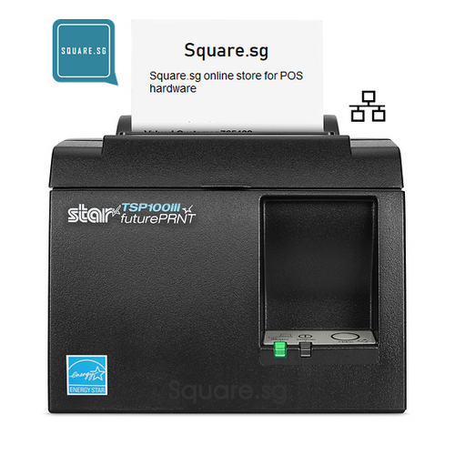 "Star Micronics, TSP100, Ethernet, 3"" Thermal receipt printer, Square.sg"