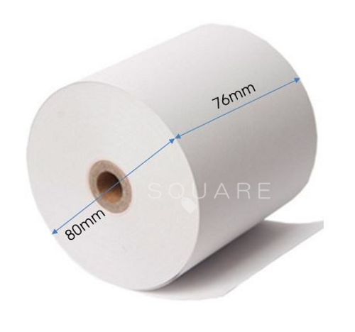 "Jumbo 3"" (80mm) Thermal Receipt Rolls for POS Printer, 50 rolls"