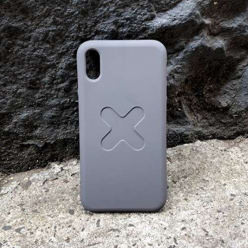 M Lock iPhone X Case - Storm
