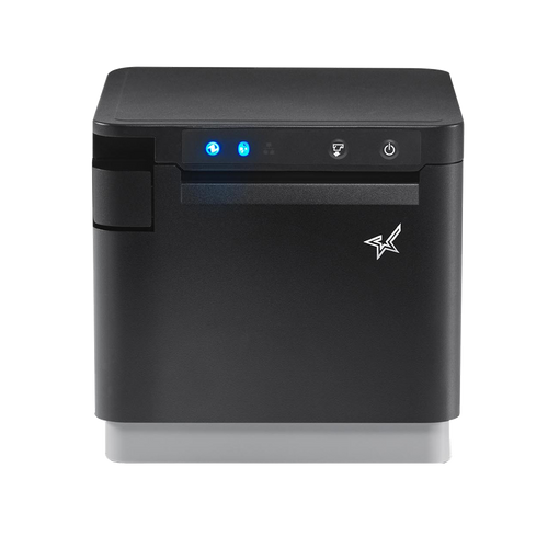 Star Micronics mC-Print3 USB, LAN, Bluetooth Thermal POS Printer with CloudPRNT (Black)