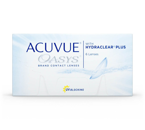 ACUVUE OASYS® Brand Contact Lenses with HYDRACLEAR® PLUS