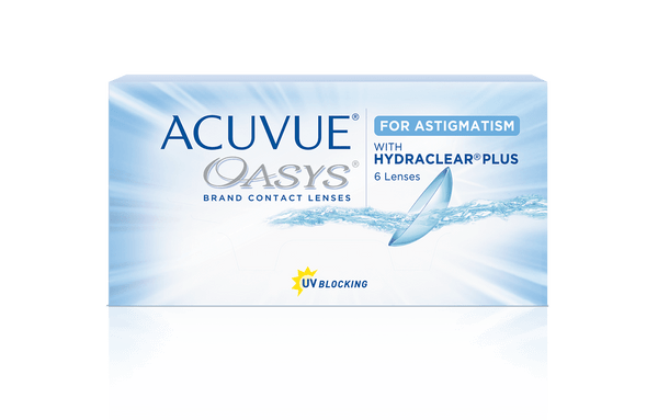 ACUVUE® OASYS Contact Lenses for Astigmatism 2 Lenses