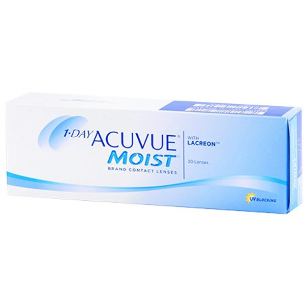 1-DAY ACUVUE® MOIST Brand Contact Lenses