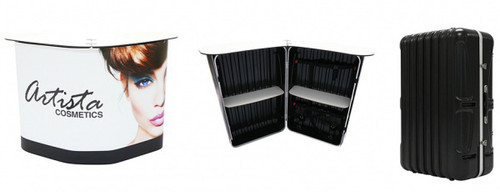 Expo Counter Podium Case - Laminate Graphic Package
