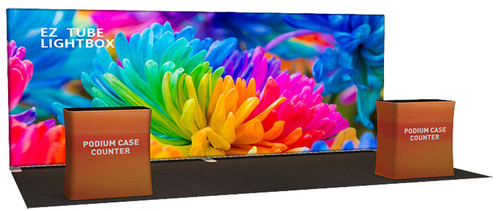 20 FT Back-Lit EZ Tube Display