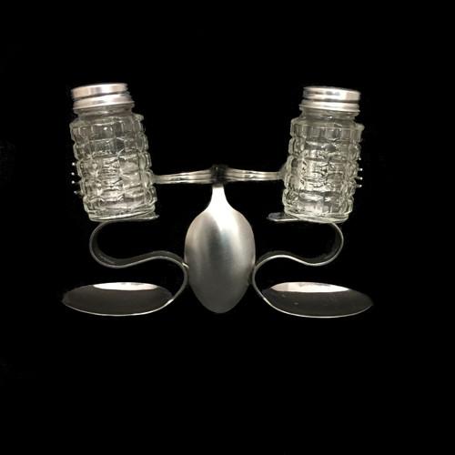 Salt & Pepper Caddy - Spoon Curls©