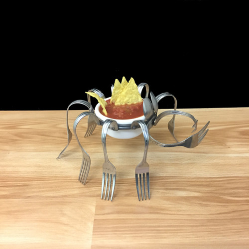 Salsa Crab - Forks and Spoons©