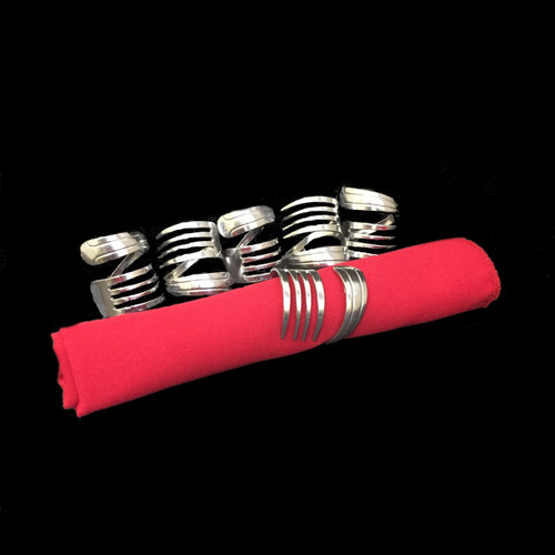 Napkin Rings - 6 Piece Set©