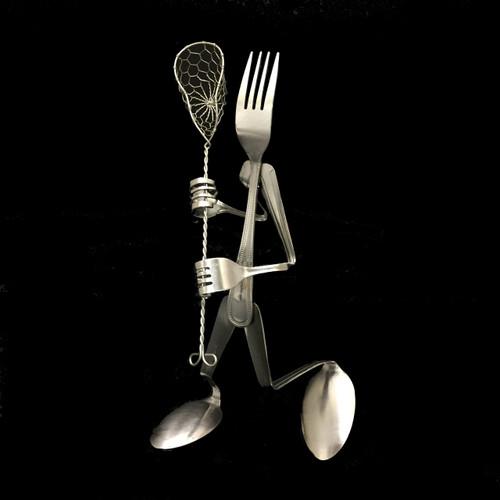 Lacrosse Player - Fork©