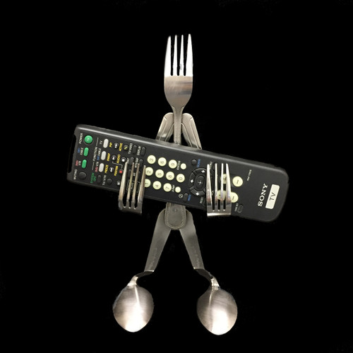 Remote Holder - Fork©