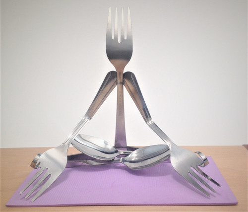 Yoga-Lotus Pose-Fork