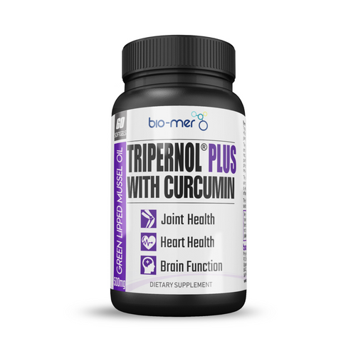 Tripernol® Plus Green Lipped Mussel Oil with Curcumin