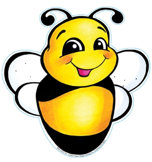 Bee Paper Cut Outs 36 Pack