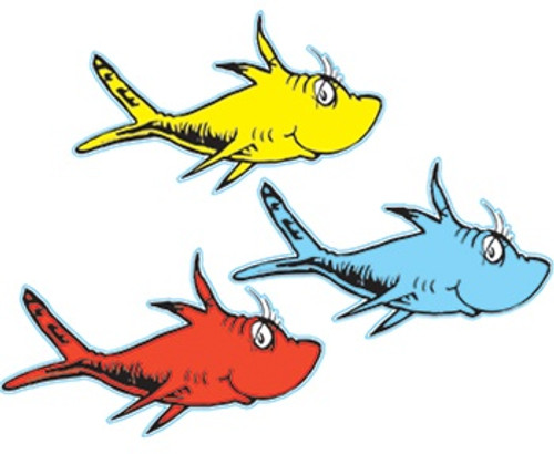 Dr Seuss One Fish Two Fish Paper