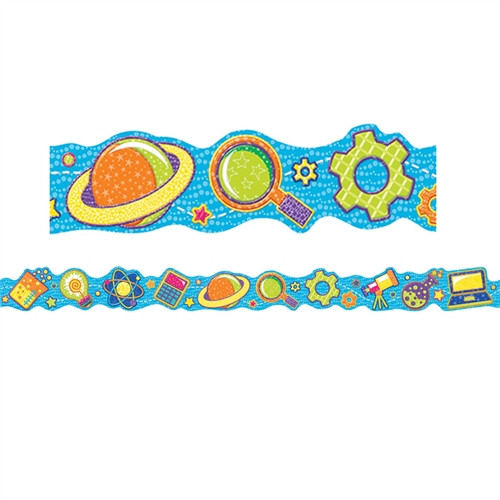 Color My World Stem Trim Extra Wide Die Cut Deco Icons
