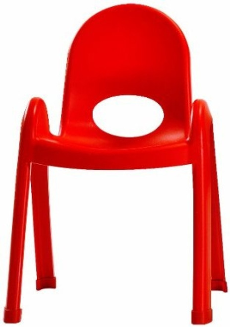 Value Stack Child Chair Candy Apple Red - 11 in.