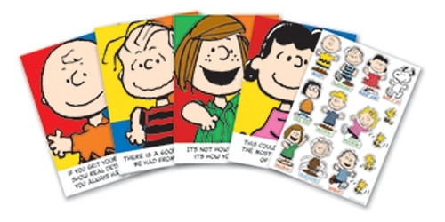 Peanuts Characters And Motivational Phrases Bb Set