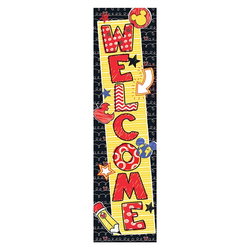 Mickey Color Pop Welcome Banner - 45 in. x 12 in.
