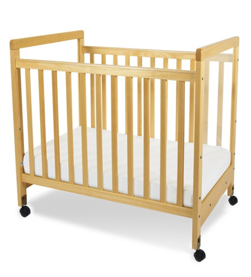 SafetyCraft Clearview Compact Size Fixed Side Crib