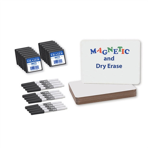 Magnetic Dry Erase Board Class Pack