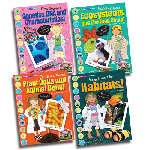 Science Alliance Life Science Set Of All 4 Titles