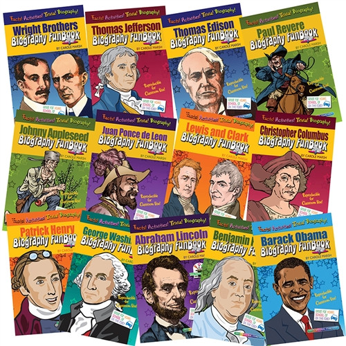 Biography Funbooks Presidents Inventors And Explorers