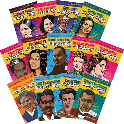 Biography Funbooks Women And Minorities Who Shaped Our Nation