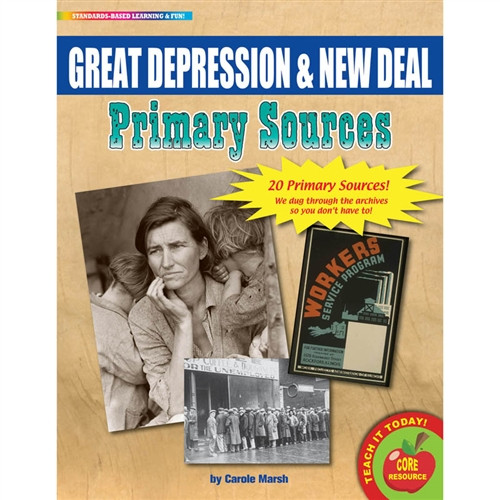 Primary Sources Great Depression and New Deal