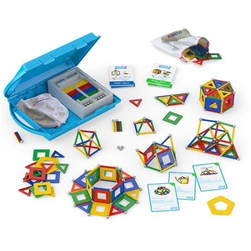 Geomag Education Kit Shapes and Space Panels