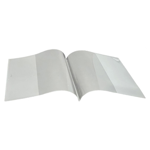 Clear Book Covers  Smart Poly - 6 in. x 8 in.