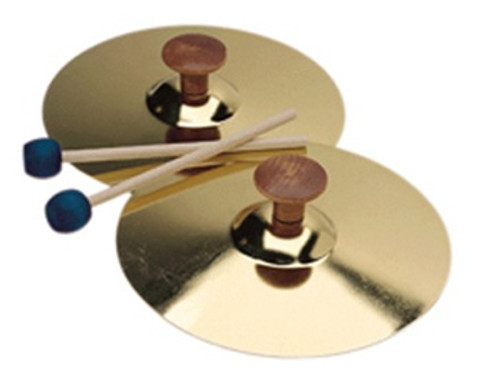 5 Cymbals W/Mallet Pair