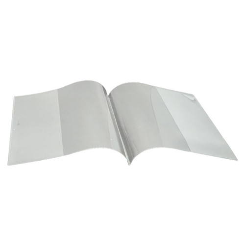 Clear Book Covers Smart Poly - 8.5 in. x 11 in.