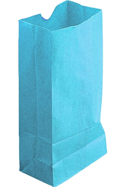 Colored Craft Bags Sky Blue