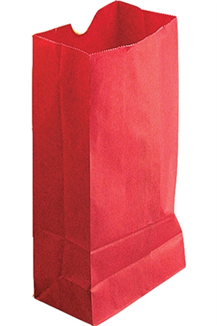 Colored Craft Bags Red