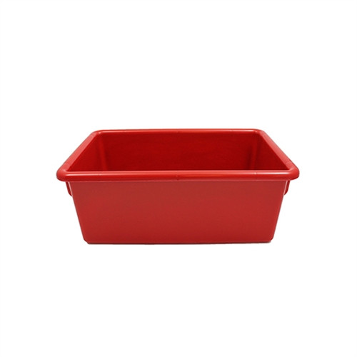 Red Cubbie Tray