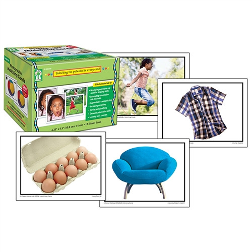 Photographic Matching Learning Cards Gr PK-K