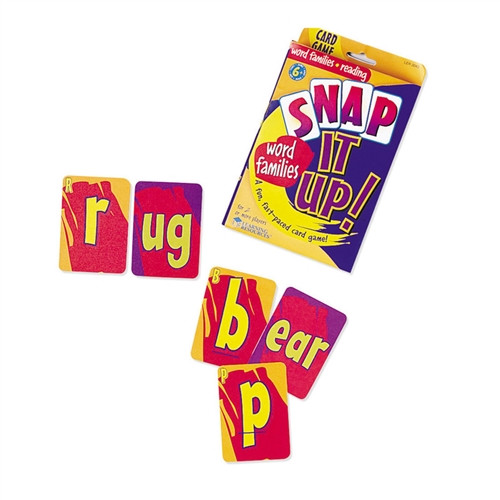 Snap It Up Phonics and Reading Card Game