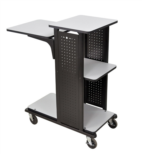 Heavy Duty Mobile Presentation Station No Electric - 41 in.