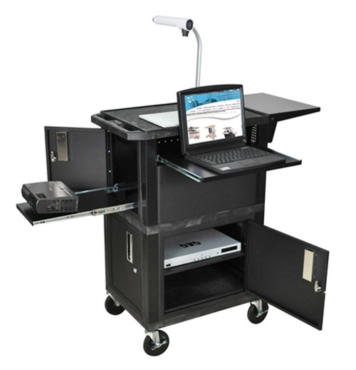 Ultimate Presentation Station Cabinets - 18 in. x 24 in. x 41 in.