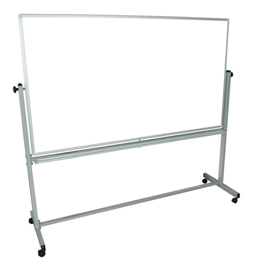 Double-Sided Magnetic Whiteboard - 72 in. x 40 in.
