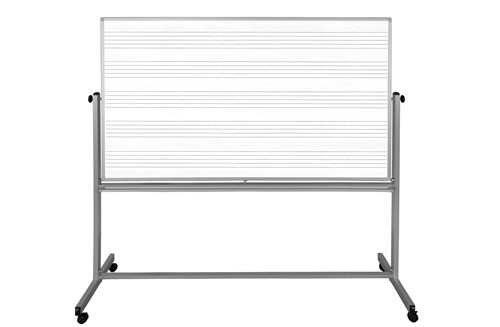 72X48 Mobile Double Sided Music Board