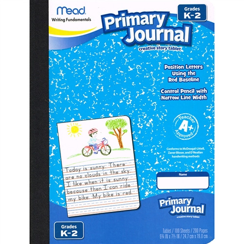 Paper Primary Journal Early Creative Story Tablet