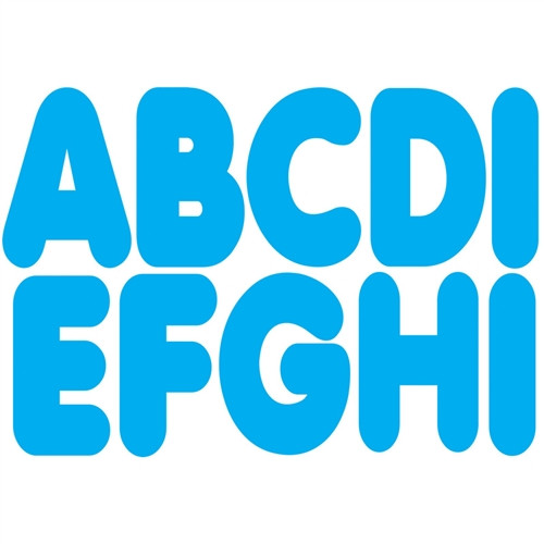 Magnetic Blue Letters - 2.75 in.