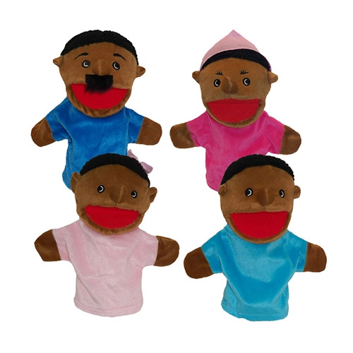 Family Bigmouth Puppets African