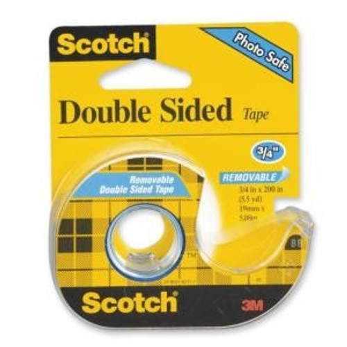 Scotch Doubles Sided Tape 0.75 in. x 200 in.