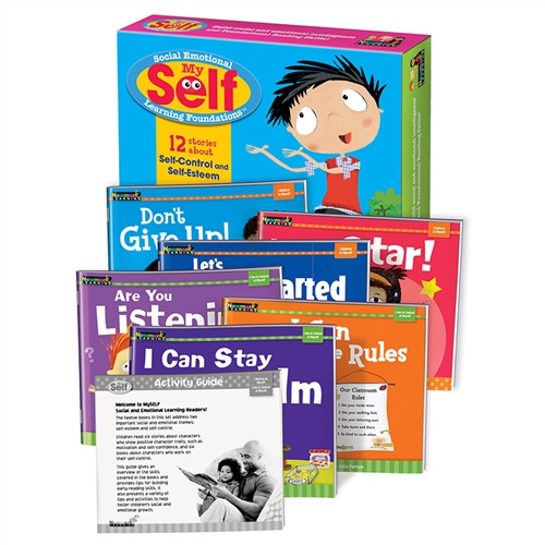 Myself Self Control and Self Esteem Early Readers Boxed Set